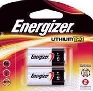 energizer cr123 3v lithium battery 2 pack